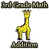 3ème année Math Addition jeu