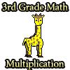 3ème année Math Multiplication jeu