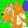 Alone wild tiger coloring jeu
