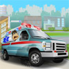 Chauffeur de camion ambulance jeu