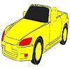 Coloriage de voiture rapide incroyable jeu