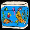 Beaux poissons d'aquarium à colorier jeu
