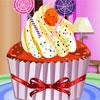 Gâteau de tasse cuit jeu