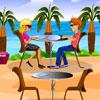 Restaurant de plage jeu