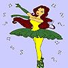 Meilleure danseuse Coloriage jeu