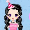 Anniversaire fille visage Art Dress up jeu