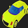 Coloriage grosse voiture pistache jeu