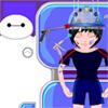 Chirurgie du cerveau aide grand héros 6 jeu