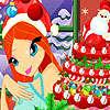 Gâteau de Noël de Bloom jeu
