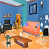 Puzzle Blue Room Escape jeu