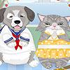 Chat chien Dress up jeu