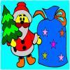 Coloriage de Noël jeu