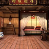 Chambre classique chinoise Escape jeu
