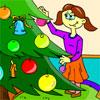 Jeu de coloriage de Noël jeu