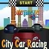Course de voiture de ville jeu