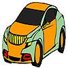 Coloriage de voiture plu confortable jeu