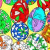Oeufs de Pâques Coloriage 1 jeu