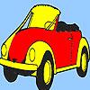 Coloriage de voiture futur meilleur concept jeu