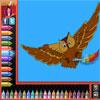 Coloriages - oiseaux jeu