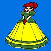 Mignon petit Coloriage princesse jeu