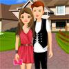 Joli Couple romantique Dress Up jeu