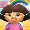 Cute Girl nez médecin jeu