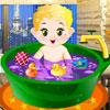 Bain quotidien de bébé jeu