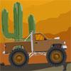 Course de camion de désert jeu