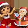 Dora avec Santa Dressup jeu