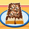 Gâteau de crème glacée moka facile puce jeu