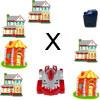 L'éducation collecte carburant partie 3 apprendre multiplication jeu
