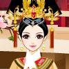 Élégante princesse chinoise jeu