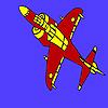 Aéronefs équipés de coloriage jeu