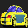 Coloriage voiture rapide de Mantoue jeu