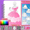 Fashion Studio - conception robe de princesse jeu