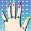 Stylisme d'ongles jeu
