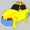Coloriage de voiture de police rapide jeu