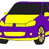 Coloriage voiture flamme rapide jeu