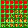 Chute des feuilles quatre d'affilée jeu