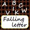 Chute de lettres jeu