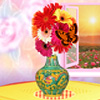 Décoration de Vase de fleur jeu