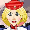 Français Stewardess DressUp jeu