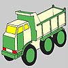 Coloriage camion futuriste jeu