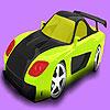 Coloriage voiture de rallye chaud jeu