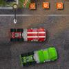 Course de camion industriel jeu