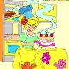 Enfants Coloriage gâteau Amazing jeu