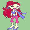 Lady Tanya à colorier jeu