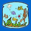 Lanterne n les poissons à colorier jeu