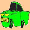 Petit coloriage de voiture ancienne jeu