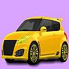 Petit Coloriage voiture familiale jeu
